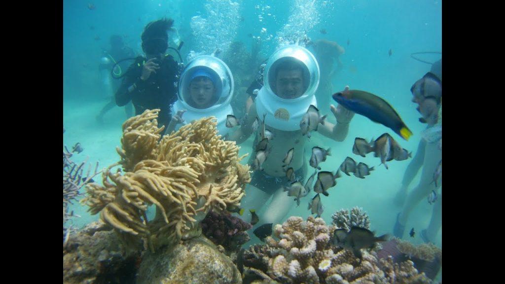 Du lịch Phú Quốc - Đi bộ dưới biển ( sea walker)