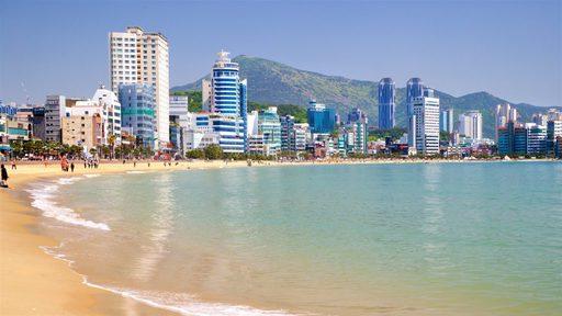 Du lịch Hàn Quốc - Bãi biển Gwangalli